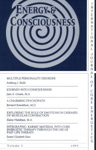 Energy & Consciousness Journals Volume 3
